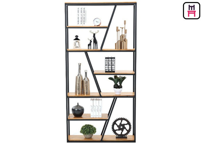 Rustic Chic Industrial Style Loft Style Shelving Trapezoidal Frame Storage
